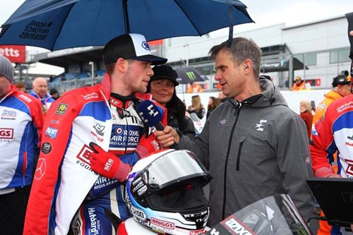 Jake Dixon Briggs Superbikes sponsorship interview