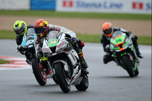 Jordan Weaving Briggs Superbike sponsorship race
